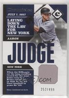 Aaron Judge #/499