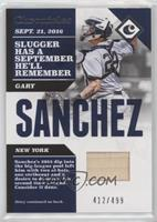 Gary Sanchez /499