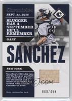 Gary Sanchez #/499