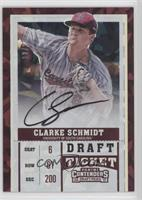 RPS Draft Ticket Autographs - Clarke Schmidt /23