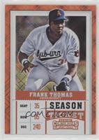 Season Ticket - Frank Thomas (Color) /15