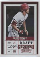 John Elway Baseball Cards