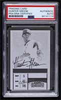 Not Issued in Product - Hunter Greene (Arm Down) [PSAAuthenticPSA/D…