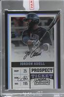 Prospect Ticket Autographs - Jo Adell (Batting) /99 [Uncirculated]