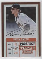 Prospect Ticket Autographs - Pavin Smith (Fielding) #/99