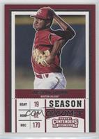 Season Ticket - Justin Dunn (Jersey Number Not Visible)