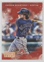 Rookies Variation - Andrew Benintendi (Blue Jersey) #/99