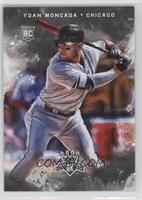 Rookies Variation - Yoan Moncada (Wide Stance, More of Red Bat Visible)