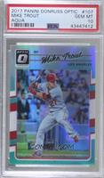 Mike Trout [PSA 10 GEM MT] #/299