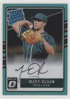Rated Rookies Base Autographs - Matt Olson /125