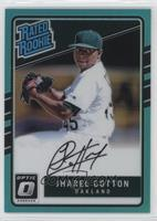Rated Rookies Base Autographs - Jharel Cotton #/125