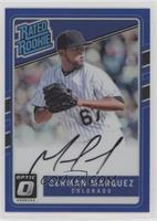 Rated Rookies Base Autographs - German Marquez /75
