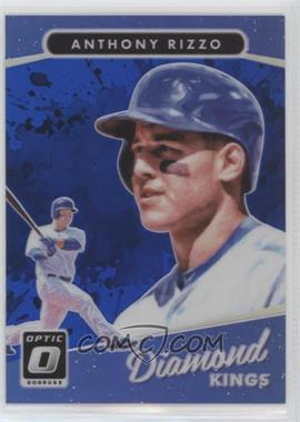 2017 Panini Donruss Optic - [Base] - Blue #5 - Diamond Kings - Anthony Rizzo /149
