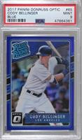 Rated Rookies - Cody Bellinger [PSA 9 MINT] #/149
