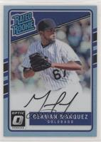 Rated Rookies Base Autographs - German Marquez /35