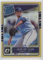 Rated Rookies - Jose De Leon /10