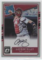 Rated Rookies Base Autographs - Carson Kelly #/150