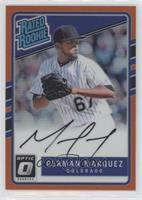 Rated Rookies Base Autographs - German Marquez /99