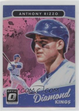 2017 Panini Donruss Optic - [Base] - Pink #5 - Diamond Kings - Anthony Rizzo