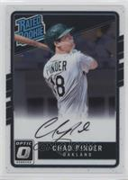 Rated Rookies Base Autographs - Chad Pinder