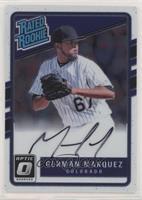 Rated Rookies Base Autographs - German Marquez