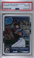 Rated Rookies - Dansby Swanson [PSA 10 GEM MT]