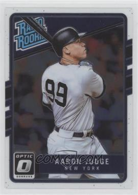 2017 Panini Donruss Optic - [Base] #38 - Rated Rookies - Aaron Judge
