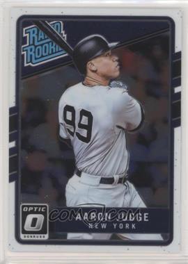 2017 Panini Donruss Optic - [Base] #38 - Rated Rookies - Aaron Judge