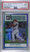 Mike Trout [PSA 9 MINT] #/149