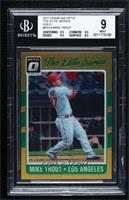 Mike Trout [BGS 9 MINT] #/10