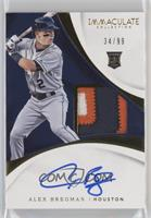 Rookie Auto Patch - Alex Bregman /99