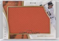 Manny Machado #/10