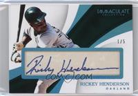 Rickey Henderson /5