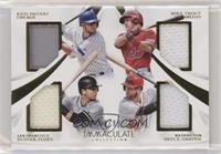 Bryce Harper, Buster Posey, Mike Trout, Kris Bryant /99