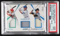 Buster Posey, Mike Trout, Kris Bryant [PSA9MINT] #/25