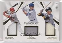 Mike Trout, Buster Posey, Kris Bryant #/49