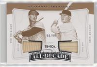 Ted Williams, Johnny Mize #/99