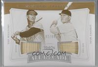 Ted Williams, Johnny Mize [Noted] #/99