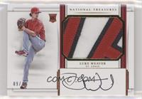 Rookie Materials Signatures - Luke Weaver /49