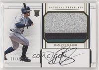 Rookie Materials Signatures - Dan Vogelbach /49