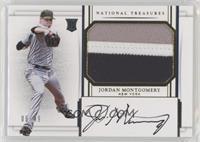 Rookie Materials Signatures - Jordan Montgomery #6/49
