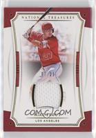 Mike Trout (Red Jersey) #/25
