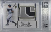 Rookie Materials Signatures - Aaron Judge [BGS 8.5 NM‑MT+] #/25