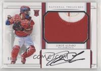 Rookie Materials Signatures - Jorge Alfaro /99