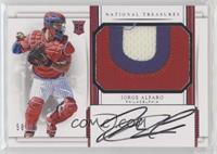 Rookie Materials Signatures - Jorge Alfaro #/99