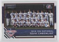 Team Checklists - USA Baseball 15U National Team