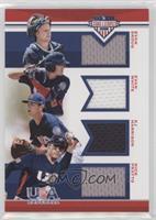 Evan Skoug, Evan White, KJ Harrison, Nick Pratto #/199