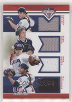 Evan Skoug, M.J. Melendez, Mike Rivera, Patrick Bailey /199