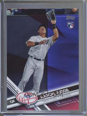 2017 Topps - [Base] - Hot Pink Mother's Day #287 - Aaron Judge /50