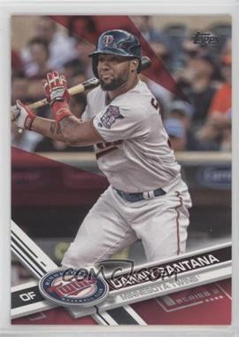 2017 Topps - [Base] - Hot Pink Mother's Day #453 - Danny Santana /50